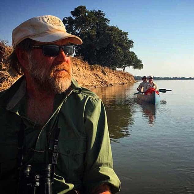 Stretch Ferreira Canoe Zimbabwe Mana Pools