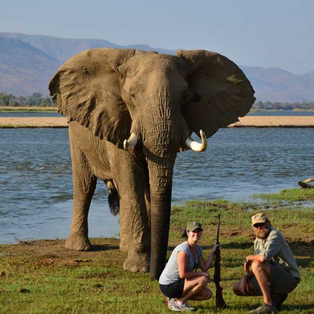 Stretch Ferreira Safaris Tented Safaris Zimbabwe Mana Pools 3